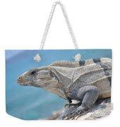 Isla Mujeres Iguana Weekender Tote Bag