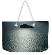 Lugu Lake Island And Ripples China Weekender Tote Bag