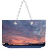 Island Barn Sunset Weekender Tote Bag
