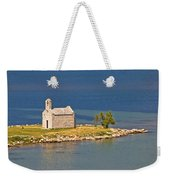 Island Church By The Sea Weekender Tote Bag by Brch Photography