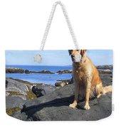 Island Dog Weekender Tote Bag