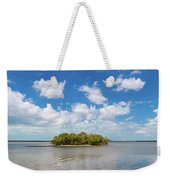 Island In A River, Ten Thousand Weekender Tote Bag