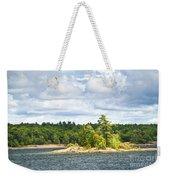 Island In Georgian Bay Weekender Tote Bag