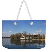 Island In The Lake Weekender Tote Bag