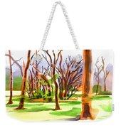 Island In The Wood Weekender Tote Bag