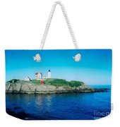 Island Lighthouse Weekender Tote Bag