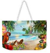 Island Of Palms Weekender Tote Bag