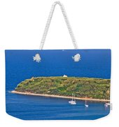 Island Of Susak Cape Church Weekender Tote Bag