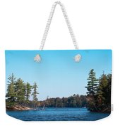 Island On The Fulton Chain Of Lakes Weekender Tote Bag