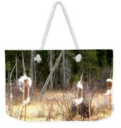 Island Park Cattails Weekender Tote Bag