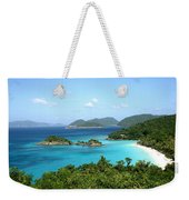 Island Shore Trunk Bay Weekender Tote Bag
