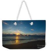 Coastal Beach Sunrise Weekender Tote Bag