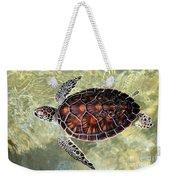 Island Turtle Weekender Tote Bag