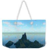 Isle And Sea... Weekender Tote Bag