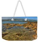 Isle Au Haut Beach Weekender Tote Bag by Adam Jewell