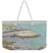 Isles Of Shoals Weekender Tote Bag by Childe Hassam