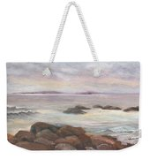 Isles Of Shoals From Odiorne Point Weekender Tote Bag