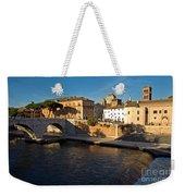 Isola Tiberina Weekender Tote Bag
