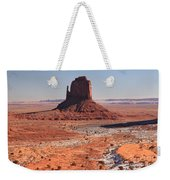 Isolated Mitten Weekender Tote Bag