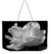Isolated White Tulip Weekender Tote Bag