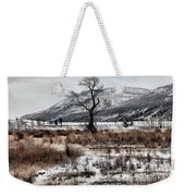 Isolation In Yellowstone Weekender Tote Bag