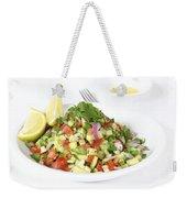 Israeli Salad  Weekender Tote Bag