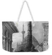 Istanbul: Porphyry Column Weekender Tote Bag