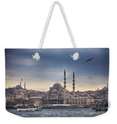 Istanbul Skyline Weekender Tote Bag