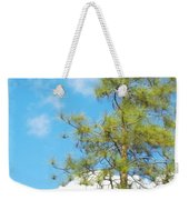 It Is A New Day Weekender Tote Bag