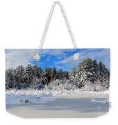 It Snow Reason Weekender Tote Bag