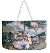 Italian Country Life Weekender Tote Bag