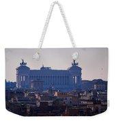 Italian Democracy Weekender Tote Bag
