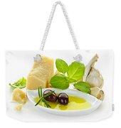 Italian Flavors Weekender Tote Bag by Elena Elisseeva