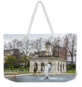 Italian Fountain In London Hyde Park Weekender Tote Bag by Semmick Photo