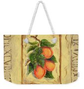 Italian Fruit Apricots Weekender Tote Bag