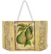 Italian Fruit Pears Weekender Tote Bag