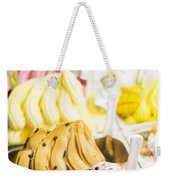 Italian Gelatto Ice Cream Weekender Tote Bag