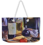 Italian Kitchen Weekender Tote Bag by Donna Tuten