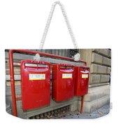 Italian Post Office Boxes Weekender Tote Bag