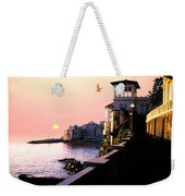 Italian Riviera Weekender Tote Bag