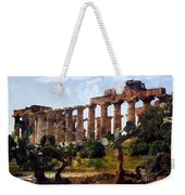 Italian Ruins 1 Weekender Tote Bag