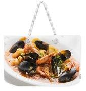 Italian Seafood Stew Weekender Tote Bag