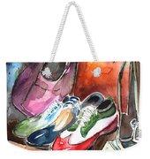 Italian Shoes 01 Weekender Tote Bag