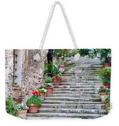 Italian Stairway Weekender Tote Bag