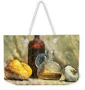 Italian Still Life Weekender Tote Bag
