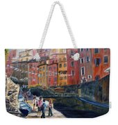 Italian Town Weekender Tote Bag