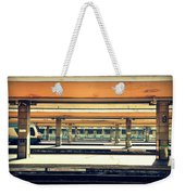 Italian Train Station Weekender Tote Bag