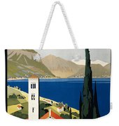 Italian Travel Poster, C1930 Weekender Tote Bag