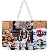 Italy Memorabilia Weekender Tote Bag