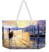 Italy Venice Dawning Weekender Tote Bag